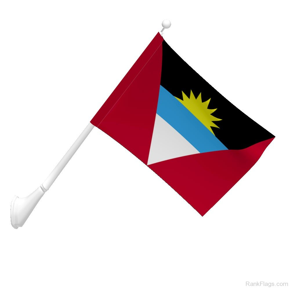 Antigua And Barbuda Flag  RankFlagscom  Collection of Flags