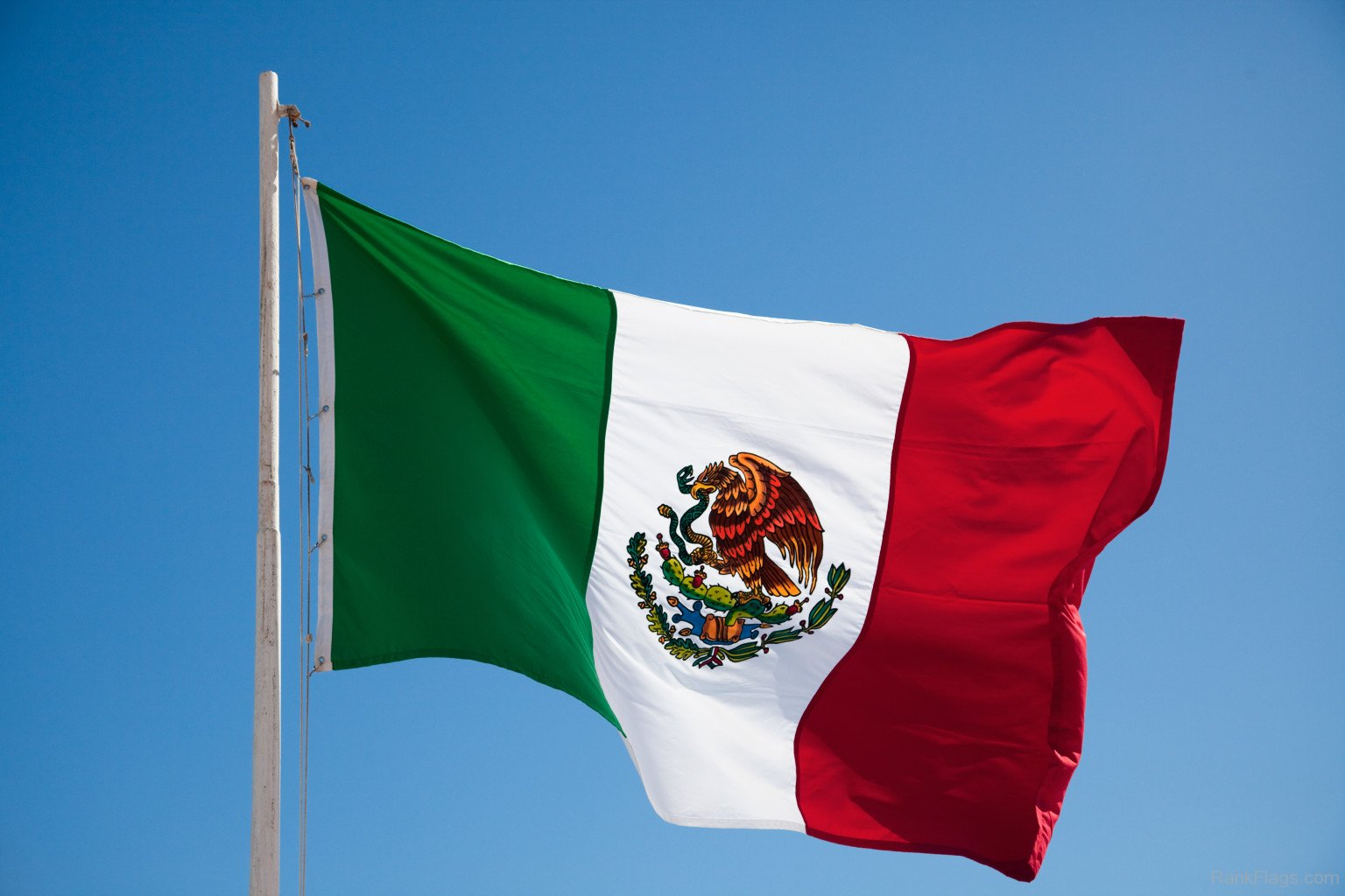 National flag of mexico collection of flags for The flag is