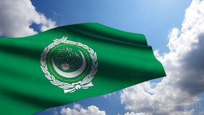 Picture Of Arab League Flag