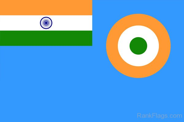 Flag Of Indian Air Force